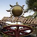 Monorail Signage Disneyland by Thomas Woolworth