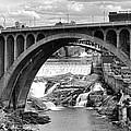 Monroe St Bridge Of Spokane by Daniel Hagerman