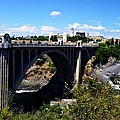 Monroe Street Bridge - Spokane by Michelle Calkins