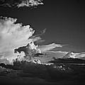 Monsoon Clouds At Sunset by Barbara Zahno