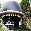 Monstro The Whale Boat Ride At Disneyland by Thomas Woolworth