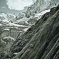 Mont Blanc Glacier by Frank Tschakert