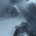 Mont Blanc Storm by Frank Wilson