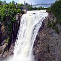 Mont Morency Falls by Lingfai Leung