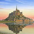 Mont Saint-michel Morn by Richard Harpum