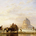 Mont St Michel by Edward William Cooke