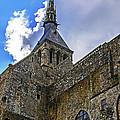Mont St Michel Tower by Elvis Vaughn
