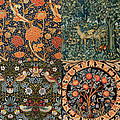 Montage Of Morris Designs by Philip Ralley