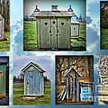 Montage Of Outhouses by Paul Ward