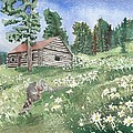 Montana Cabin by Tammy Crawford