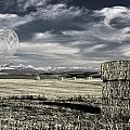 Montana Moonrise by Bruce Rolff