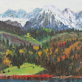 Montana Mountains in the Fall