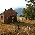 Montana Schoolhouse by Jesse  Chitwood