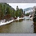 Montana Winter Frame by Susan Kinney