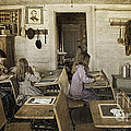 Montana's Oldest Standing Schoolhouse by Priscilla Burgers