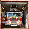 Montclair Fire Truck by Jerry Fornarotto