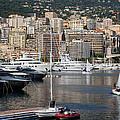Monte Carlo Sailing - Monaco French Riviera by Georgia Mizuleva