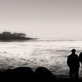 Monterey California - Silhouette Sunset by Gregory Dyer