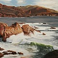 Monterey Coast by Kenneth Young