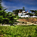 Monterey Lighthouse by Peter Hogg