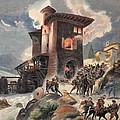 Montlue Seizes The Moulins Dauriol by Albert Robida