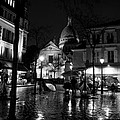 Montmartre Black And White W  by Frank Molina