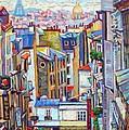 Montmartre View by Elizabeth Elkin