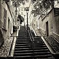 Montmartre Mono 01 by Russ Dixon