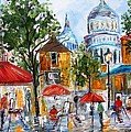 Montmartre Paris by Karen Tarlton
