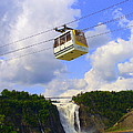Montmorency Falls And Gondola by Lingfai Leung