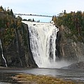 Montmorency Waterfall - Canada by Christiane Schulze Art And Photography