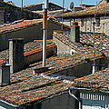 Tile Rooftops Of France by France  Art