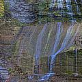 Montour Falls Fall Panorama by William Norton