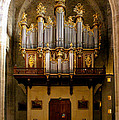 Montpellier Organ From The Nave by Jenny Setchell