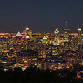 Montreal At Night by Andre Faubert