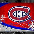 Montreal Canadiens Christmas by Joe Hamilton