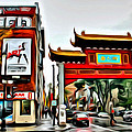 Montreal China Town by Alice Gipson