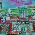 Montreal Pharmacy by Michael Litvack