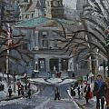 Montreal Winter Mcgill by Darlene Young