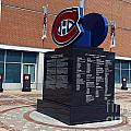 Monument For The Montreal Canadiens by Jason O Watson