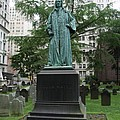 Monument John Watts Trinity Churchyard New York by Christiane Schulze Art And Photography