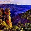 Monument To Grand Canyon  by Bob and Nadine Johnston
