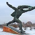 Monument To The Hungarian Socialist Republic by Deborah Smolinske