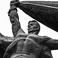 Monument To The People 0131 - Textured Pencil by David Lange