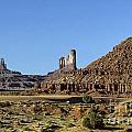 Monument Valley Arizona State Usa by Jim Corwin