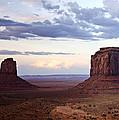Monument Valley At Sunset by Saija  Lehtonen