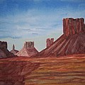 Monument Valley by B Kathleen Fannin