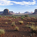 Monument Valley From North Window by Tim Fitzharris