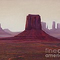 Monument Valley- Haze by Xenia Sease