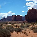 Monument Valley Scenic View by Christiane Schulze Art And Photography